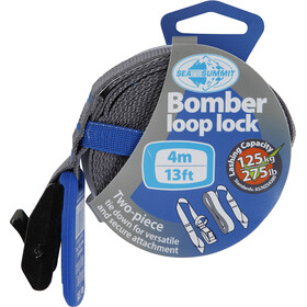 Sea to Summit Bomber Loop Lock 4,0m blue/grey